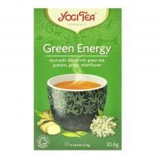 Ceai energie verde bio 17 plicuri