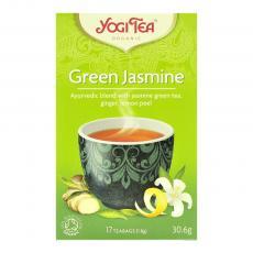 Ceai verde cu iasomie bio 17 plicuri