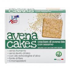 Crackers din ovaz cu susan bio 250 g