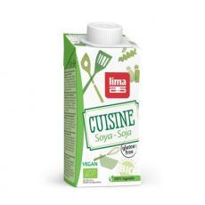 Smantana vegetala de soia bio 200 ml
