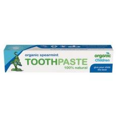Pasta de dinti menta si aloe vera copii bio 50 ml