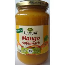 Piure de mango si mere bio 360 g