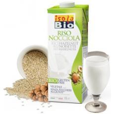 Lapte de orez cu alune de padure bio 1 L