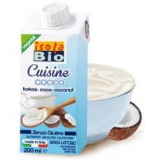 Smantana vegetala din nuca de cocos bio 200 ml