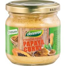 Pate vegetal cu papaya si curry bio 180 g