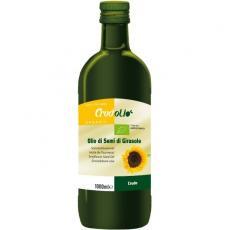 Ulei de floarea soarelui presat la rece bio 1 L