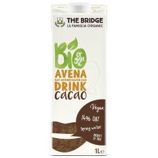 Lapte de ovaz cu cacao si calciu bio 1 L