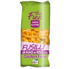 Paste fusilli din porumb si orez fara gluten bio 500 g