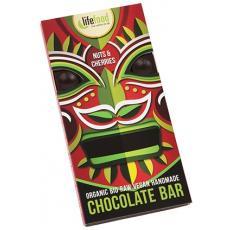 Ciocolata cu cirese si nuci brazilia raw bio 70 g