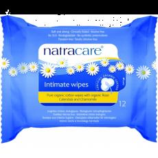 Servetele umede pentru igiena intima bio 12 buc