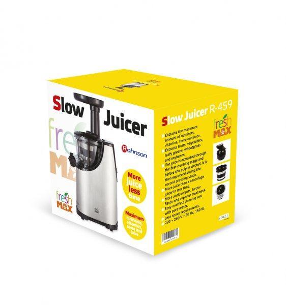 Storcator Slow Juicer Lidl : Storcator Fresh Max Slow Juicer Rohnson R459