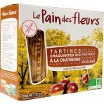 Tartine crocante cu castane bio 150 g