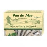 Sardine mici in ulei de masline extravirgin bio 120 g
