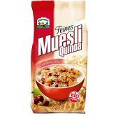 Musli cu ovaz, quinoa, stafide si merisor bio 450 g