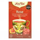 Ceai de trandafiri bio 17 plicuri