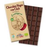 Ciocolata neagra cu chili bio 100 g