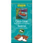 Ciocolata cu crema de cocos bio 100 g