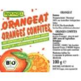Coaja de portocala confiata fara zahar bio 100 g