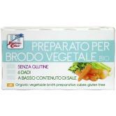 Cuburi vegetale pentru supa fara gluten bio 6x10 g