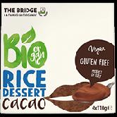 Budinca de orez cu cacao fara gluten bio 4x110 g