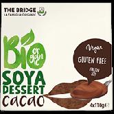 Budinca de soia cu cacao fara gluten bio 4x110 g